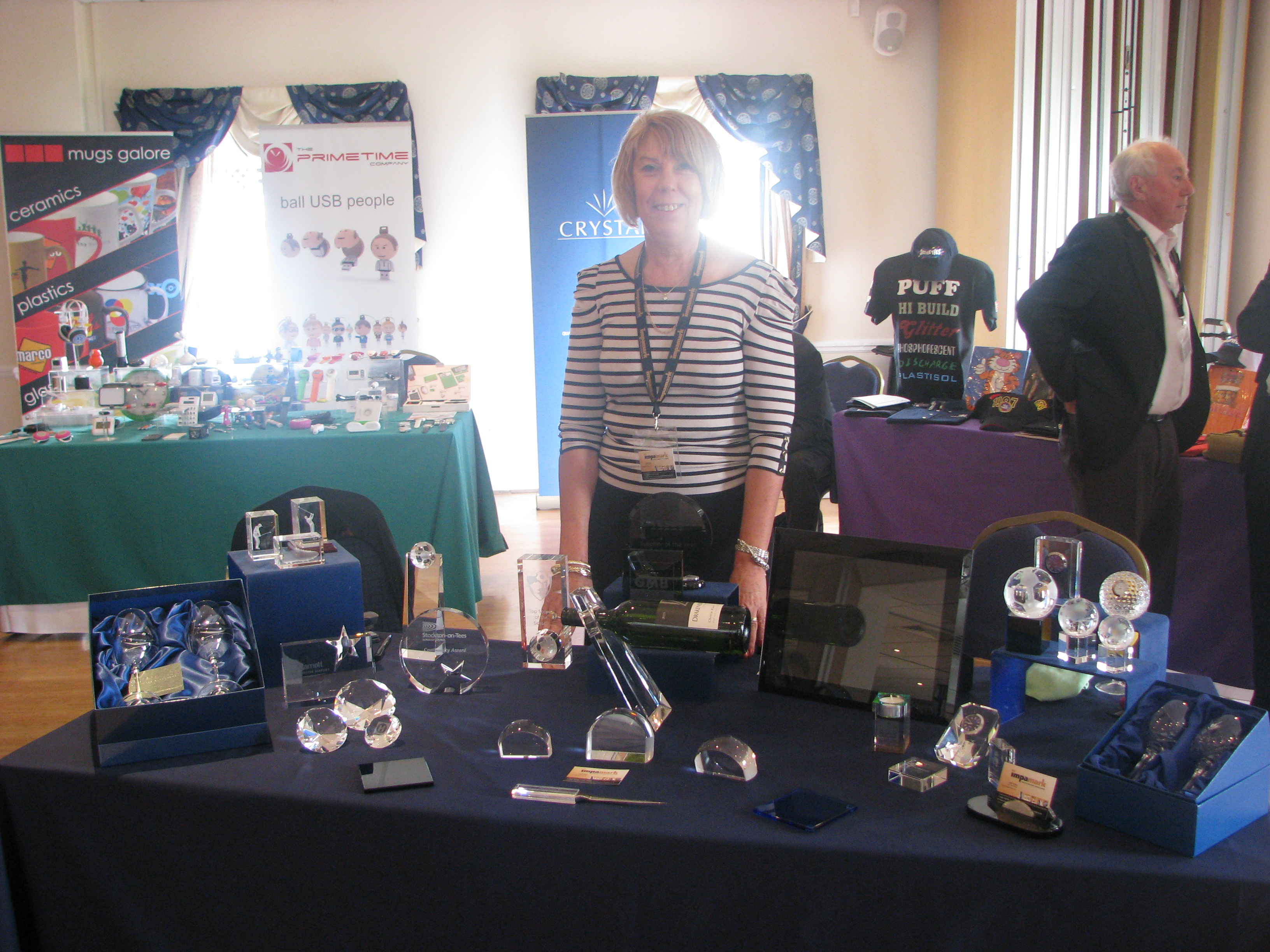 Sue from Crystal Galleries