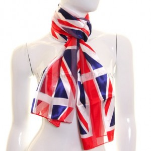 Union Jack long rectangular scarf