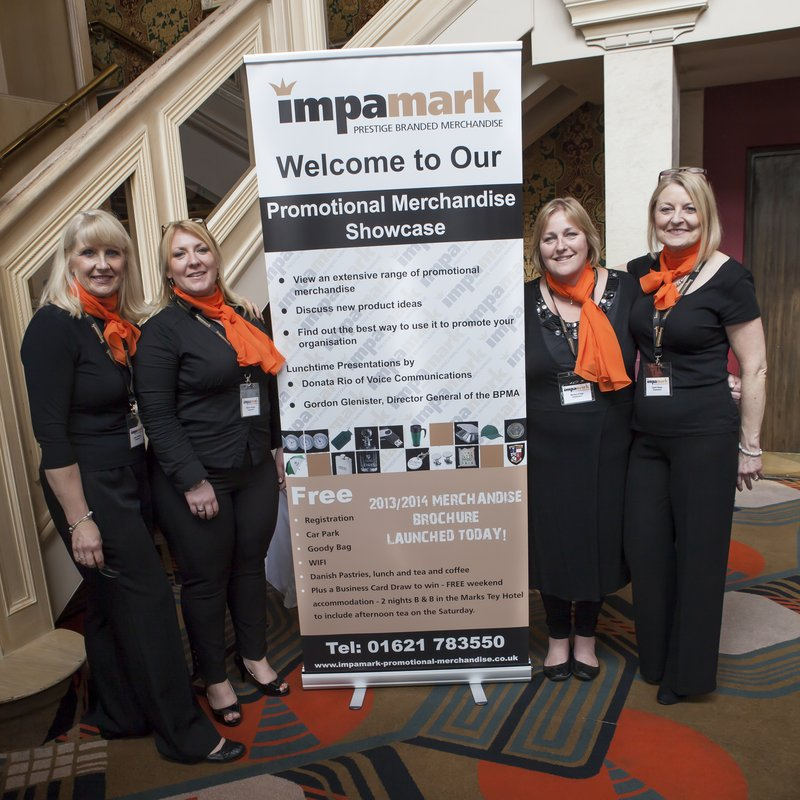 The Impamark Prestige Branded Merchandise Team