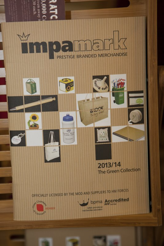 Impamark Prestige Branded Merchandise Green Collection 2013