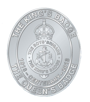 Kings Badge Centenary Badge - Supplies Item