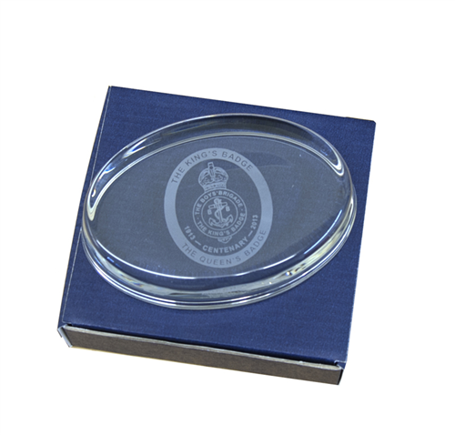 Kings Badge Paperweight