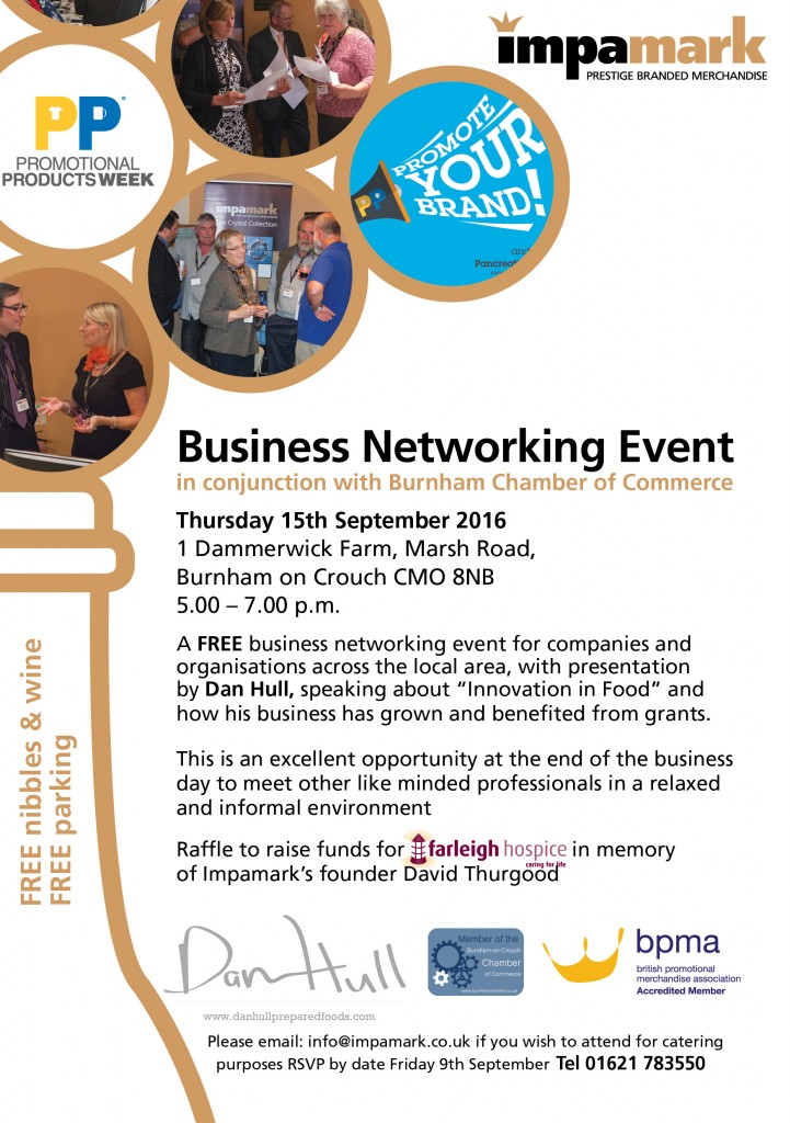 Impamark Business Networking Event Image